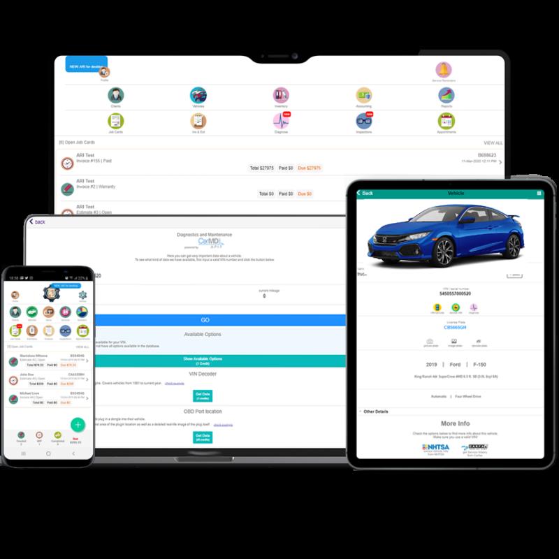 car repair software