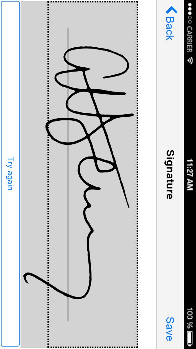 Signature support