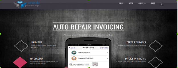 auto repair invoicing install