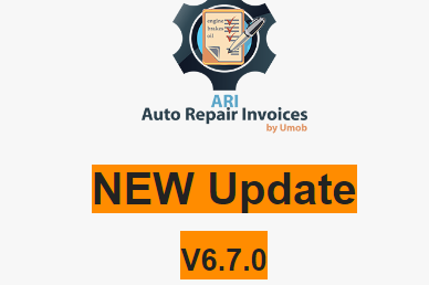 Labels for Auto Repair Invoices