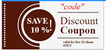 New Feature: Discount Coupons