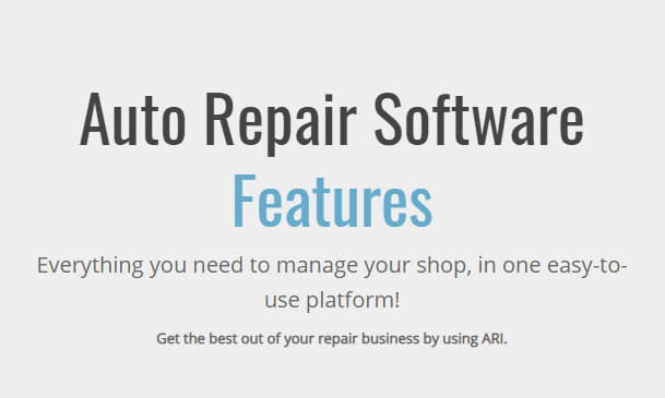 50 Must-Have Features for Any Auto Repair Software